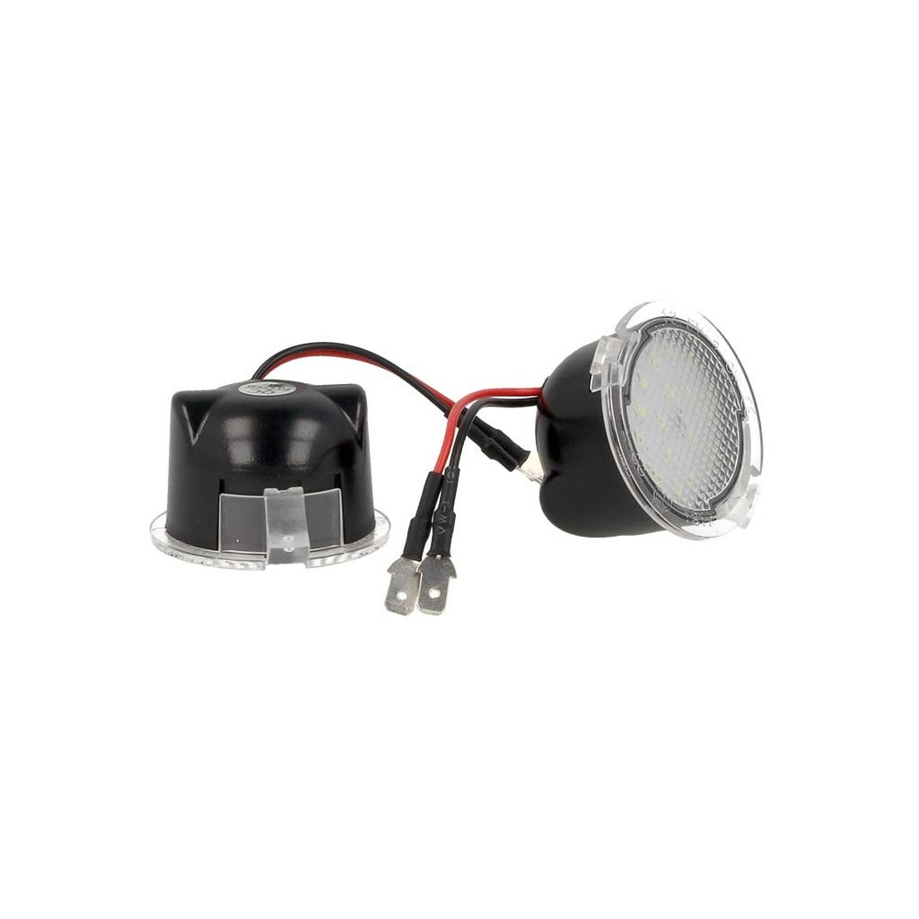 KIT LUCI LED DI CORTESIA SOTTO SPECCHIETTO RETROVISORE FORD