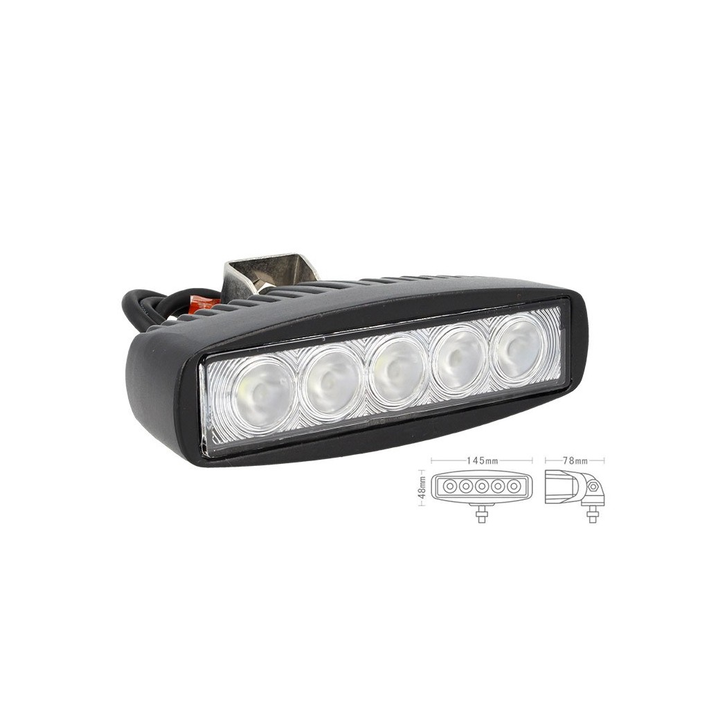 FANALE LUCI DIURNE A LED DRL WORK LIGHT FARO DA LAVORO