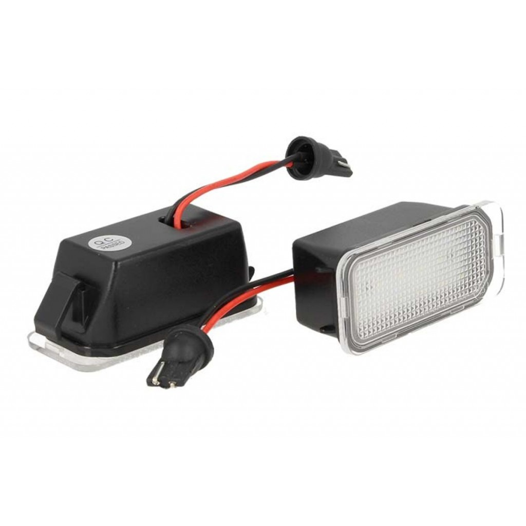 KIT LUCI TARGA LED FORD MONDEO FIESTA CANBUS BIANCO NO ERRORE