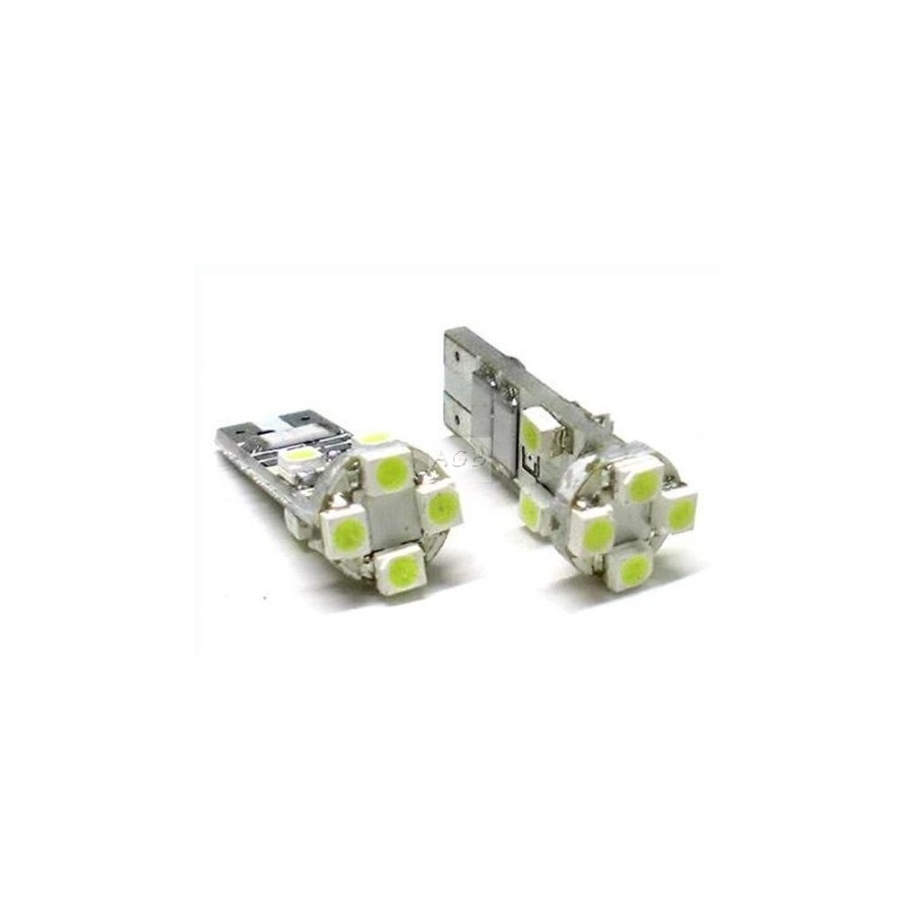 Lampada LED Canbus T10 W5W 8 Smd No Error