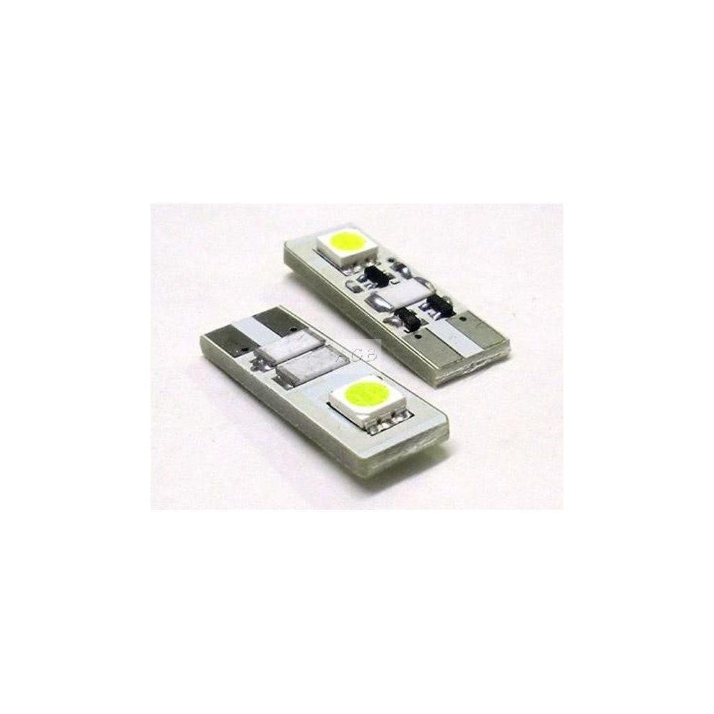 Lampada Led Canbus T10 W5W 2 Smd No Polarità No Error