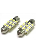 Led Siluro T11 C5W  Bianco Camion 24V