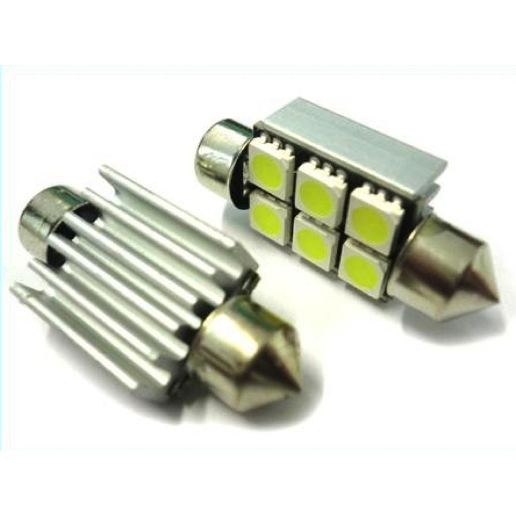 Led Siluro Canbus T11 C5W 36mm 6 SMD